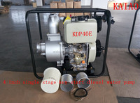 4 inch single stage key start centrifugal diesel water pump for irrigation use(KDP40E)
