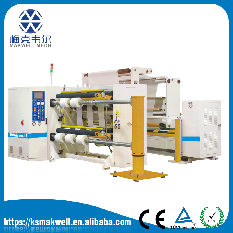 DSD plastic film slitting machine