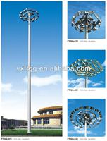high pole yard lighting,galvanized lighting pole