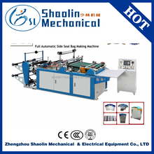 Quality warranty plastic bag making equipment/machine make garbage plastic bag with best service