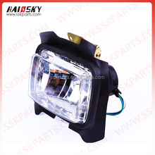 HAISSKY Motorcycle accessories led head lamp light for CG125 head light