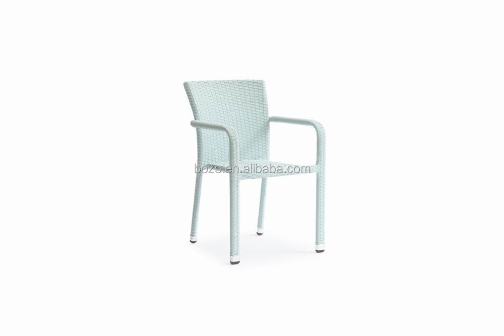 Garden Outdoor Stacking Stackable Used Rattan Chair