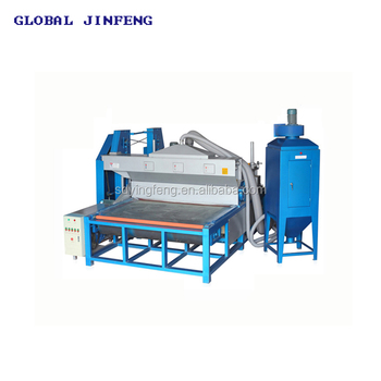 JFDS 2000 Automatic horizontal glass sandblasting machine with Blade