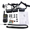 LCD Screen 300M Waterproof Rechargeable Remote Shock Pet Dog Training Collar 1/2 /3 dogs Trainer