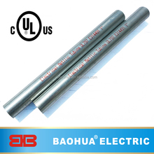 Galvanized UL approved Electrical EMT pipe 1 inch