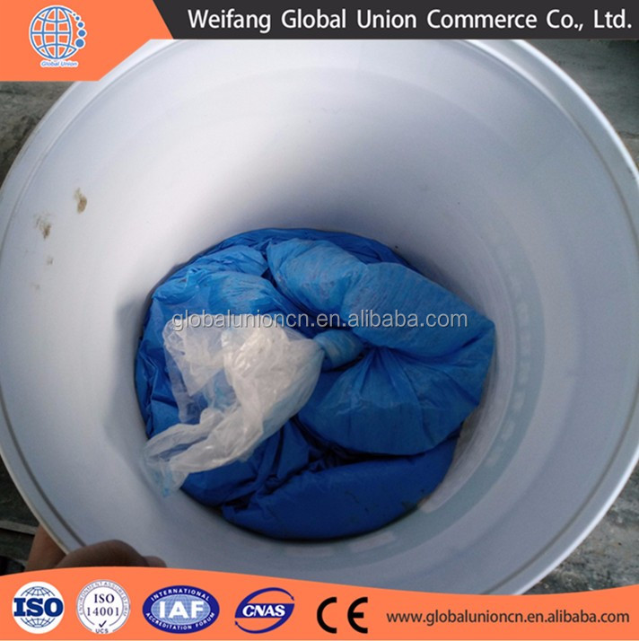 Blue color silicone roof coating for more beautiful roof