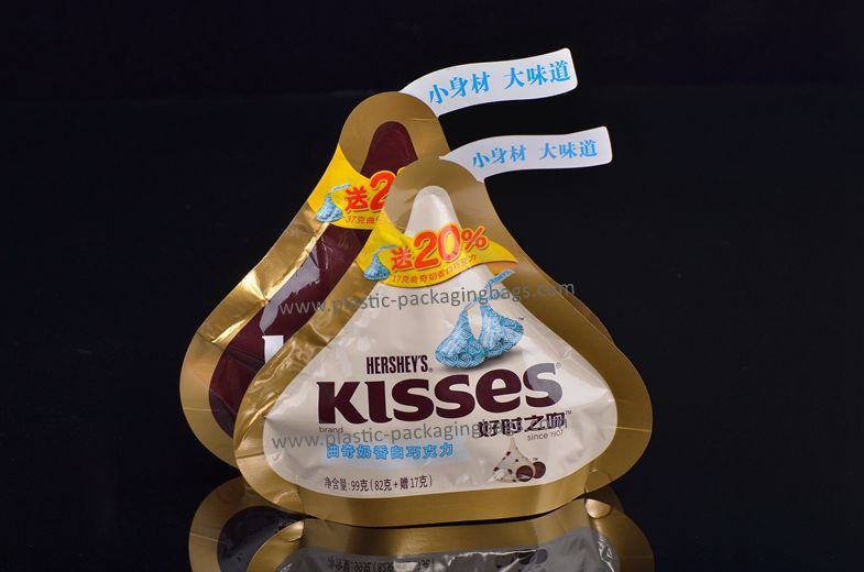 Customized Aluminum Foiled Cone Shaped Candy Bag