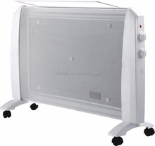 White Mica room infrared heater 1800W