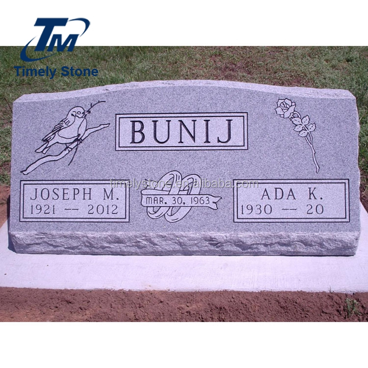 Wholesale cheap cemetery grave marker