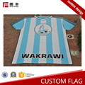 Wholesale soccer Embroidered cheap advertising flags