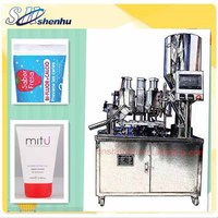 htgf-50 semi-automatic paint tube /aluminium tube filler and sealer factory