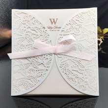Printing Designed Fashion Wedding Invitation Card