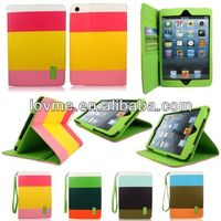 For Apple iPad 3 4 Wallet stand Leather Protective case+Stylus Pen