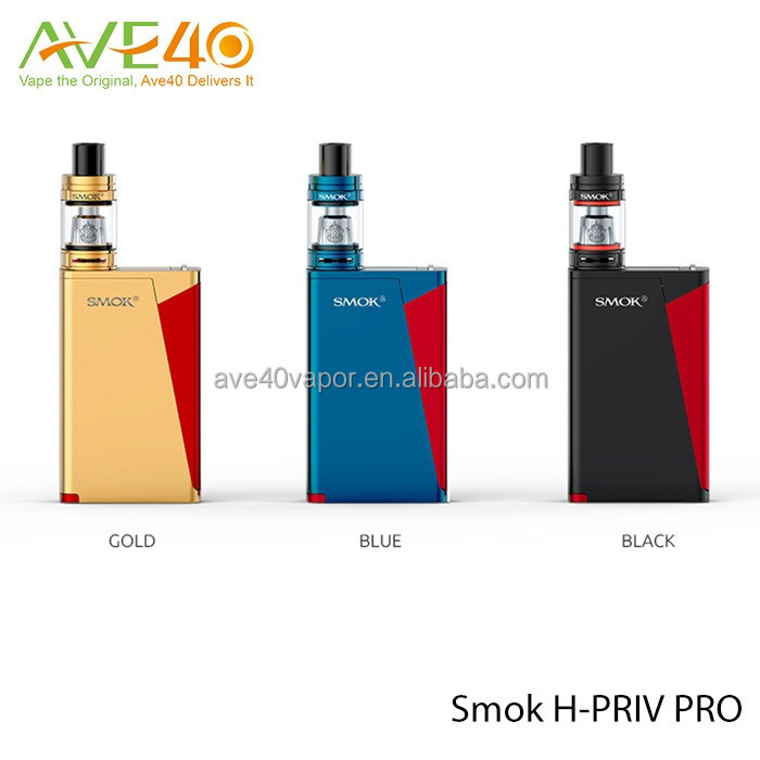 Best E-Cigarettes 5ml SMOK H-PRIV PRO Kit 220W Power For Vaping From Ave40