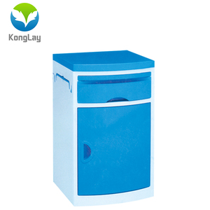 High quality ABS plastic bedside table dental hospital furniture in hospital cabinets