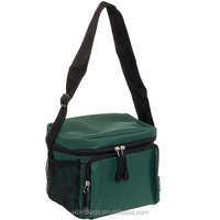 Insulated lunch cooler bag zero degrees inner cool, Thermal lunch box bag, Thermal lunch bag Green color