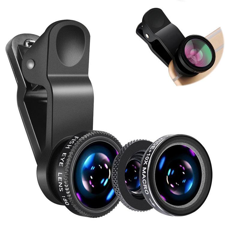 3 in 1 Weitwinkel-Kameraobjektiv für Mobiltelefone - ANKUX Tech Co., Ltd