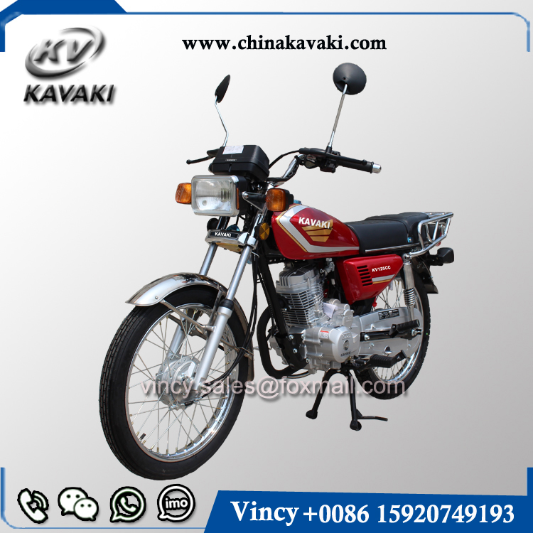 KAVAKI New Arrive High Quality Automatic Gas Motorcycle CG125CC Hot Selling Adult Motorcycle