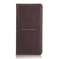 Factory Price leather flip magnetic case for sony xperia z5 top quality with card slot