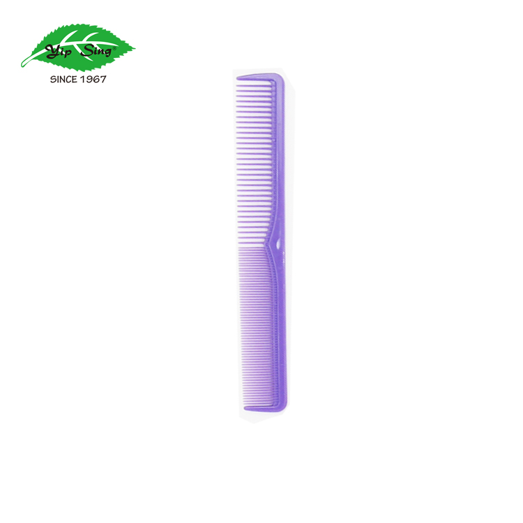 Quality plastic fine double tooth dressing comb for salon barber