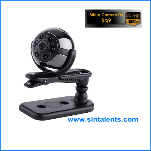 Mini Wifi Camera 360 Degree Rotation Mount Stand with Car Charger & EU Plug & USB Cable for Ai-Ball