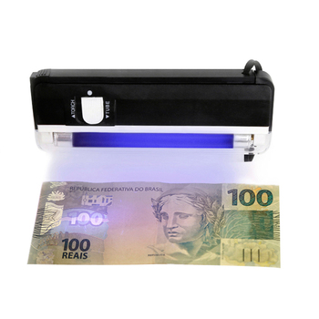 FJ-01 portable money detector with UV light and flashlight