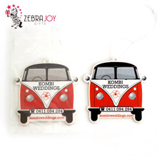 Eco-friendly unique paper hanging auto fragrance custom air car freshner for car