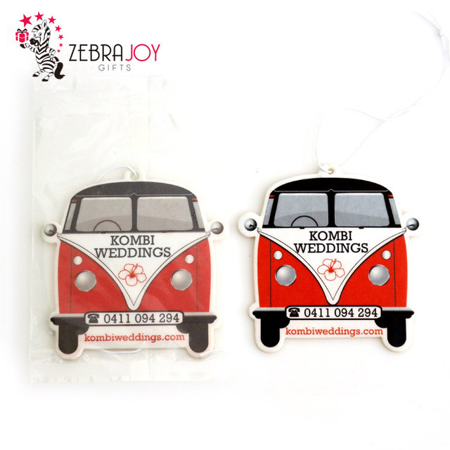 Eco-friendly unique paper hanging auto fragrance custom air car freshener for car