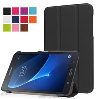 hot selling Three folding PU Flip tablet cover for samsung galaxy tab A 7.0 T280 case
