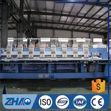 912 flat embroidery machine best quality low price ZHAO SHAN