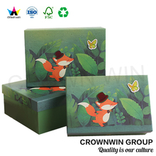 Crownwin Cute Kids Toy Storage Paper Box