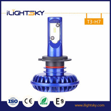 6000lm 3000K, 6500K, 8000K ZES led headlight bulb 50w car LED Headlight auto part H4 Car LED Headlight H11 scooter LED H7