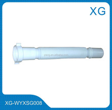 "1-1/4"" Bathroom basin drain hose/80cm plastic flexible retractable kitchen sink basin pvc 1.1/2 waste pipe"