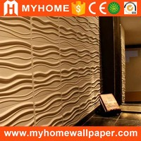 Waterproof insulated interior wall panels 3d plastic panels for walls