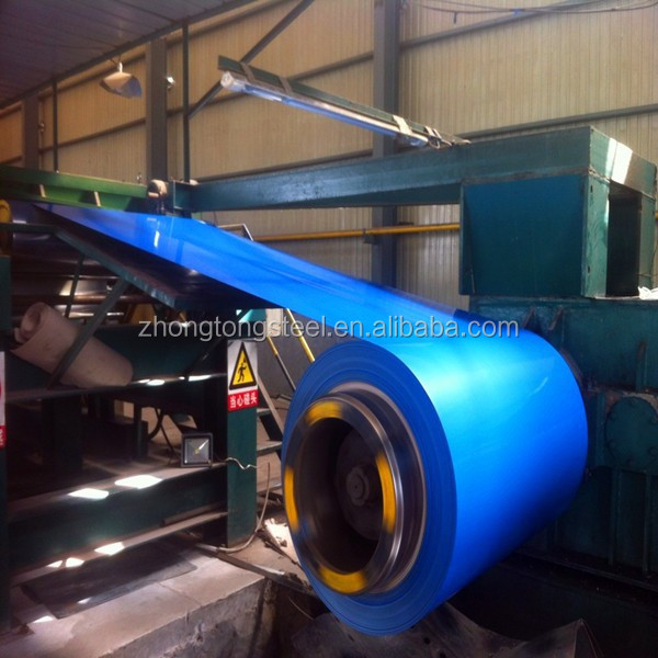 alibaba china PPGI coated steel coil from tianjin steel company