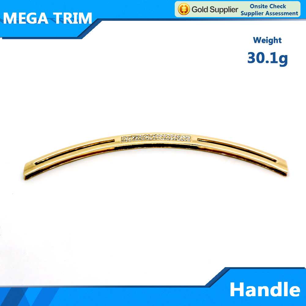metal bag handle for bag accessory bag parts accessory hardware