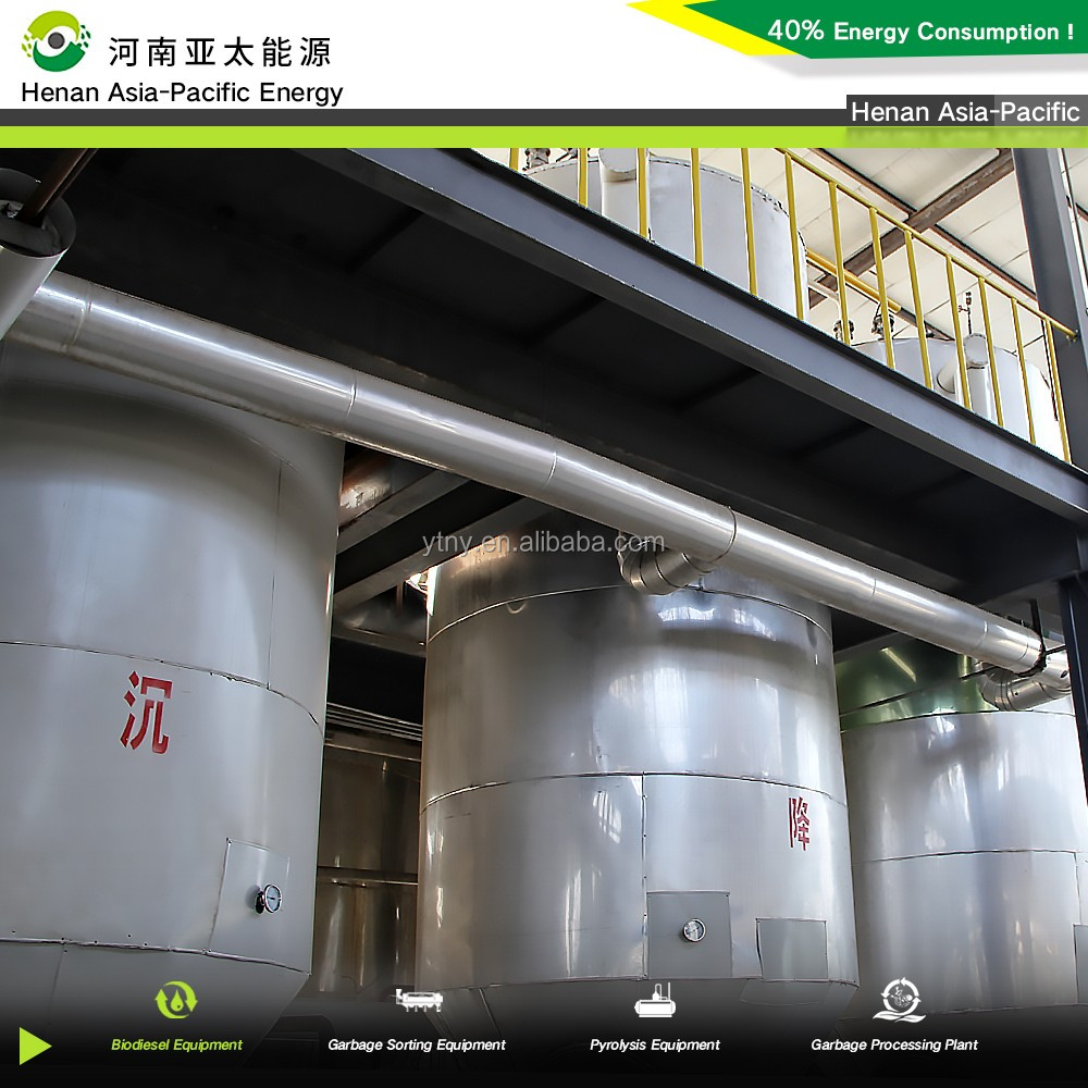 5-500t/d capacity Machine making biodiesel from cooking oil