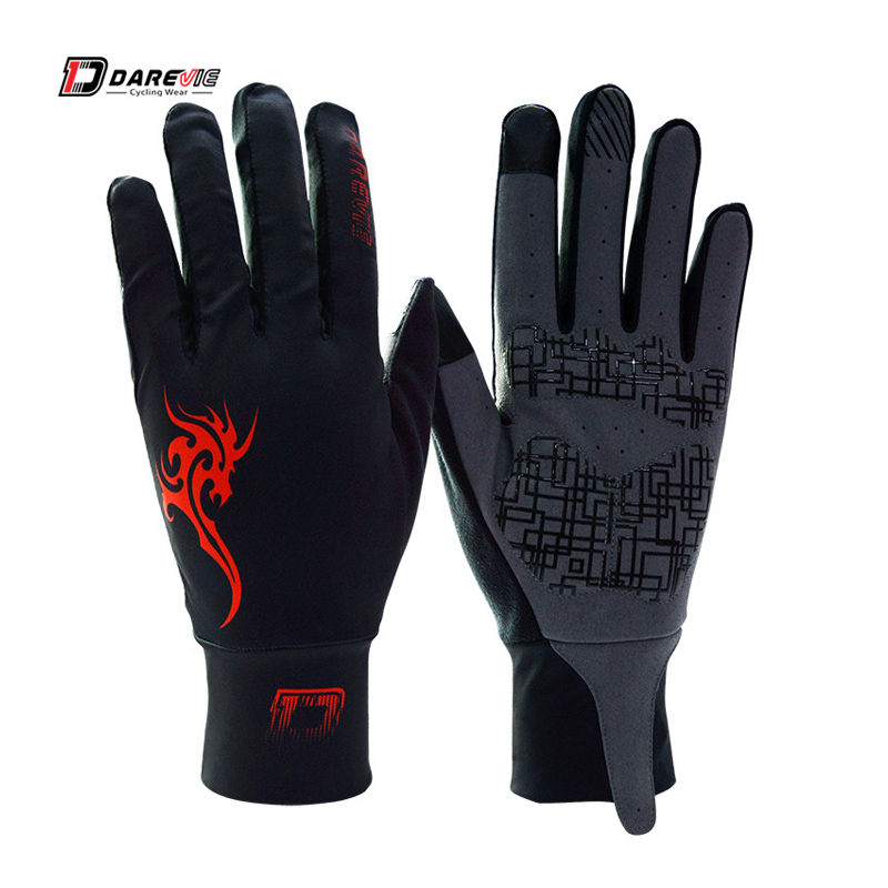 Darevie Windproof Touch screen bicycle glove full finger cycling gloves