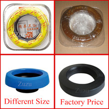 Toilet rubber gasket commode rubber gasket toilet bowl gasket sealing ring toilet accessory