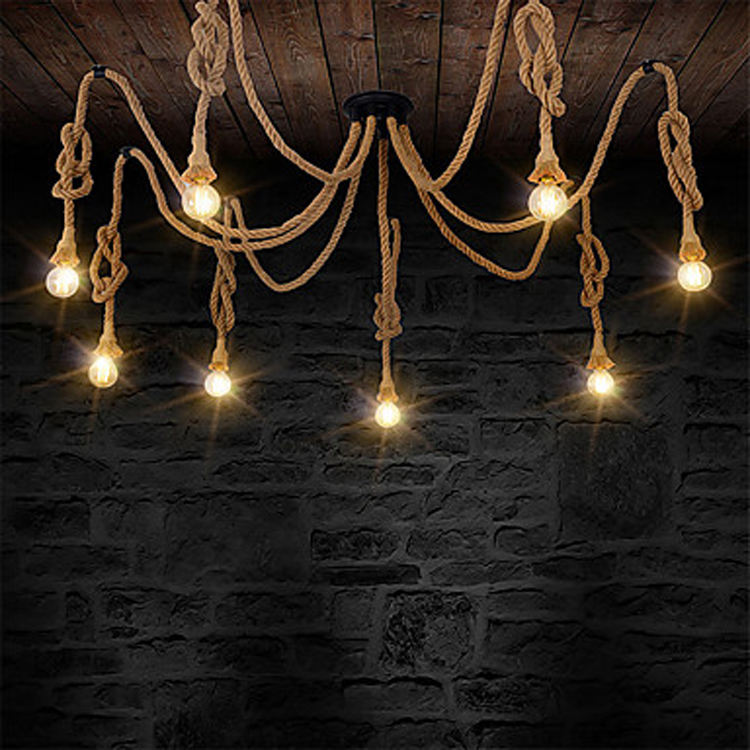 31W-40W vintage industrial metal lamp retro hanging light fixtures for clothes shop