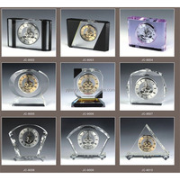 gifts items wedding favor crystal clock
