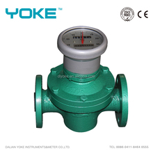 fuel counter fuel mechanical oval gear flow meter with totalizer