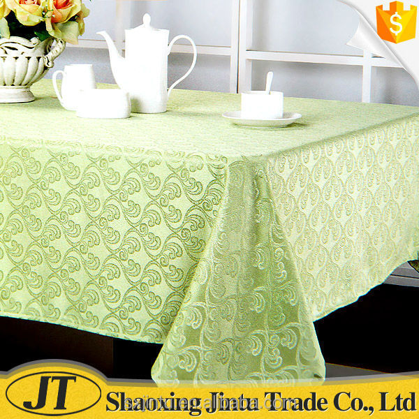 fancy luxury jacquard tablecloth table cover