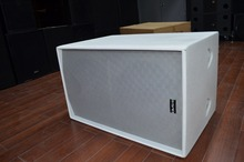 2015 High-end good quality professional speaker dual 12 in subwoofer box for line array