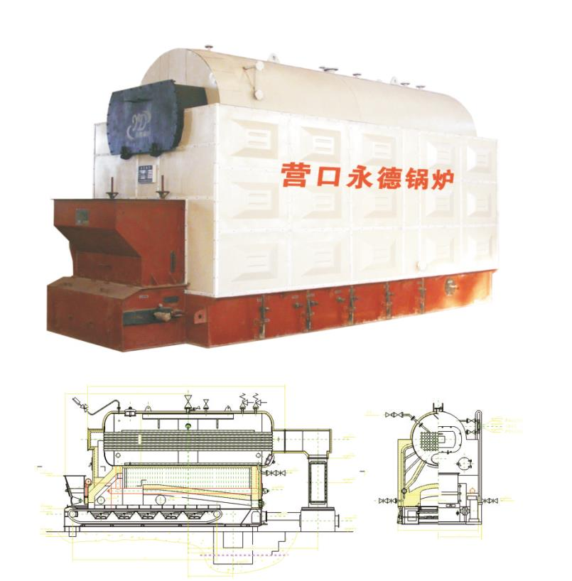 High Pressure Coal Fired Steam Boiler For Power Plants industry