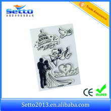 Made in China wedding photopolymer stamps for invitations