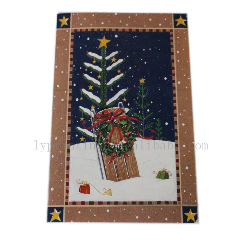 Christmas card printing Cheap flash greeting card printing