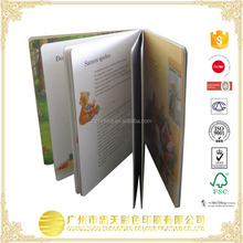 China manufacturing /Hardcover professional pantone color book printing for kids