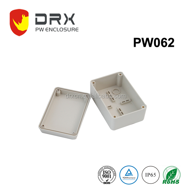 Molded IP65 waterproof plastic outdoor electrical enclosures