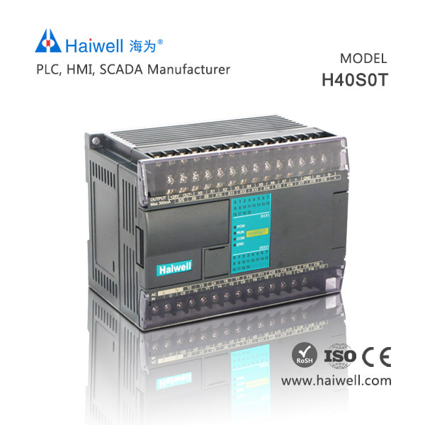 Haiwell PLC H40S0T programable logic PLC controller for industrial automation